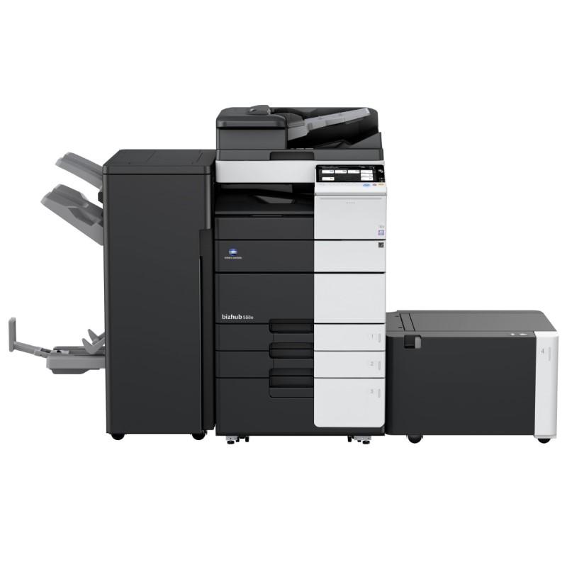 Černobílé multifunkční zařízení Konica Minolta bizhub 558e